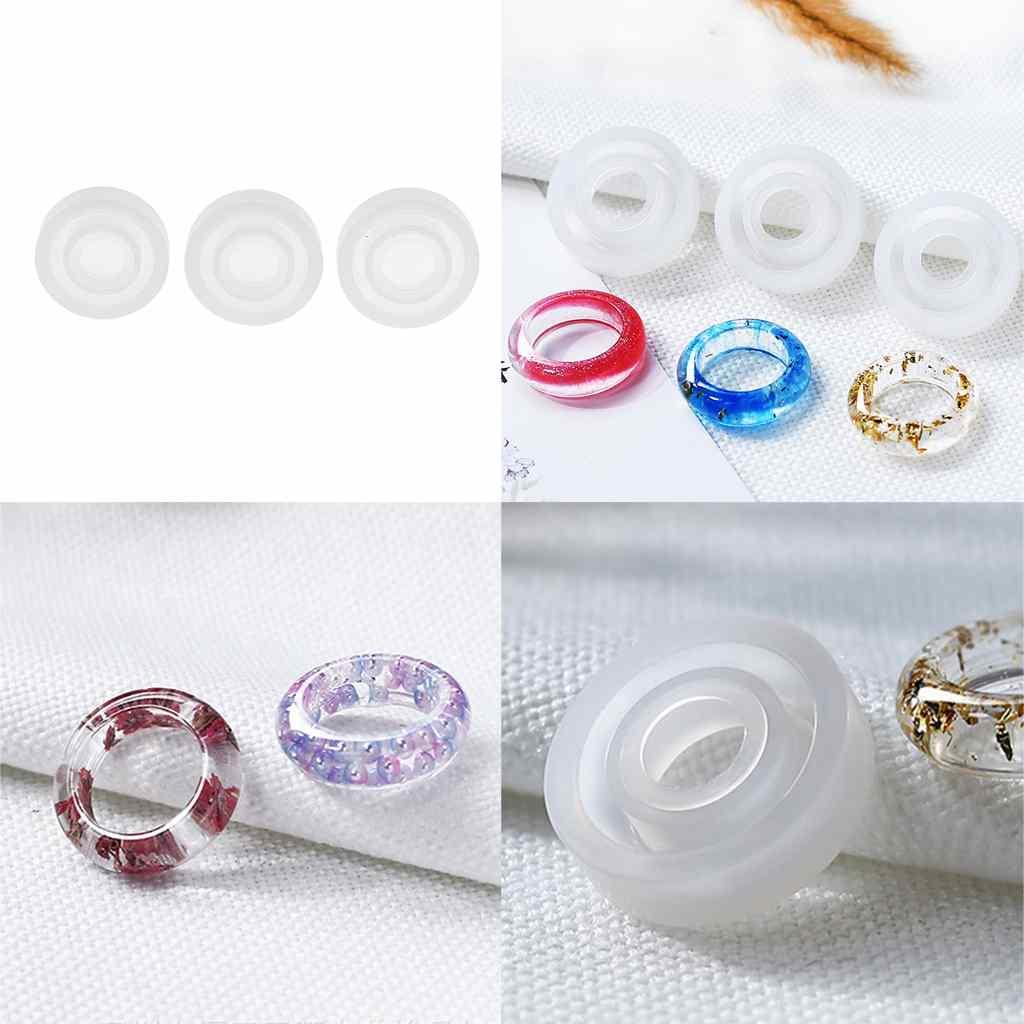 3Pcs//Set Fish Resin Stickers Paintings Mold DIY Handmade Jewelry Craft Making MC